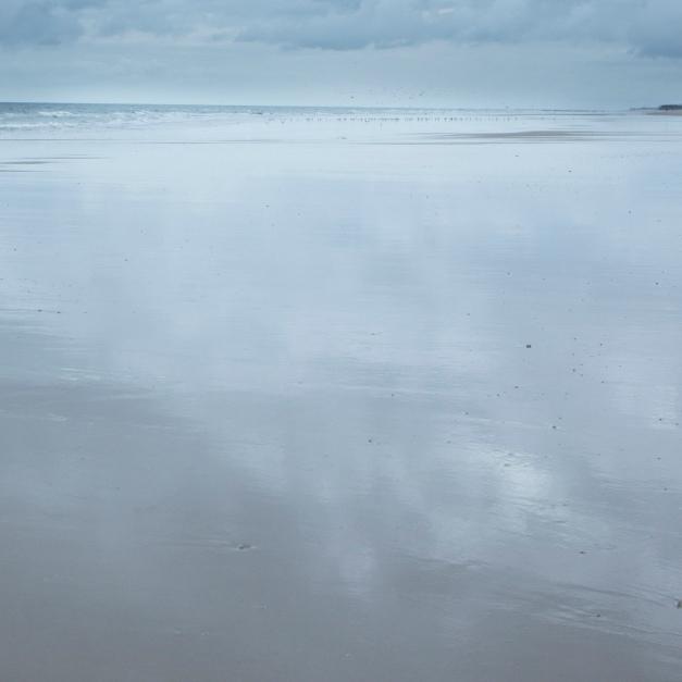 Recorte de la imagen de la playa después del primer salvado de la imagen.