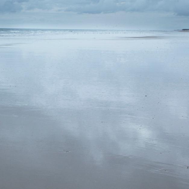 Recorte de la imagen de la playa después de 5 iteraciones,