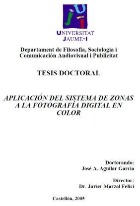 Portada de la tesis doctoral